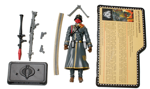 GIJoe - JoeCon 2012 - Oktober Guard � Iron Grenadier Elite Specialist - Loose 100% Complete