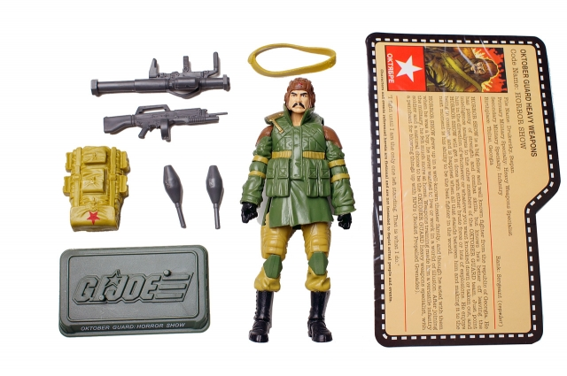 GIJoe - JoeCon 2012 - Oktober Guard � Horror Show - Loose 100% Complete