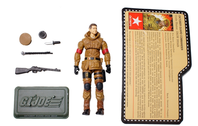GIJoe - JoeCon 2012 - Oktober Guard - Iron Bear - Loose 100% Complete