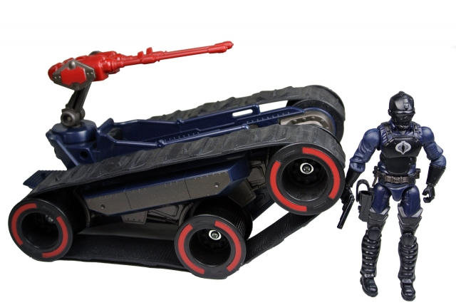 GIJoe - Pursuit of Cobra - HISS Attack Scout with Driver - Loose 100% Complete