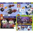 Transforming Sushi - Osushi Sentai Sharida - Series 02 - Set of 4