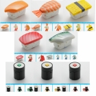 Transforming Sushi - Osushi Sentai Sharida - Series 01 - Set of 8 Figures