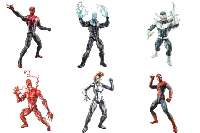 Marvel Legends - Infinite Series Wave 1 - Spider-Man - Set of 6