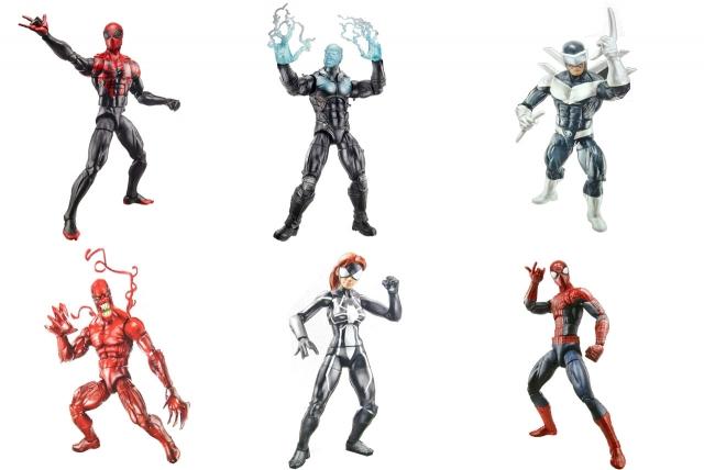 Marvel Legends - Infinite Series Wave 1 - Spider-Man - Set of 6