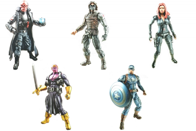 Marvel Legends - Infinite Series - Captain America - The Winter Soldier set of 5