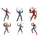 Marvel Legends - Infinite Series Wave 2 - Spider-Man - Set of 6