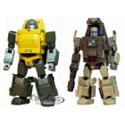 Old Time Series - OTS-02 Brawny and OTS-03 Backland - Set of 2 Figures