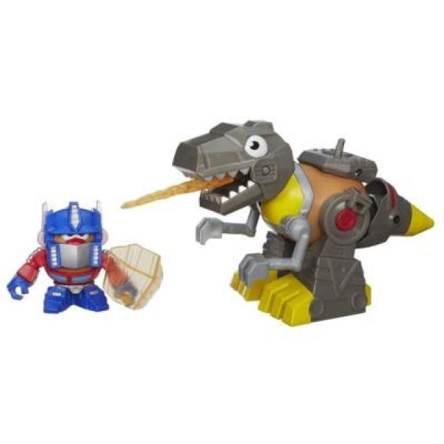Transformers - Mr. Potato Head - Mashable Optimus Prime and Grimlock