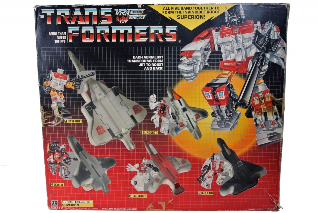 Transformers G1 - Superion Gift Set - MIB
