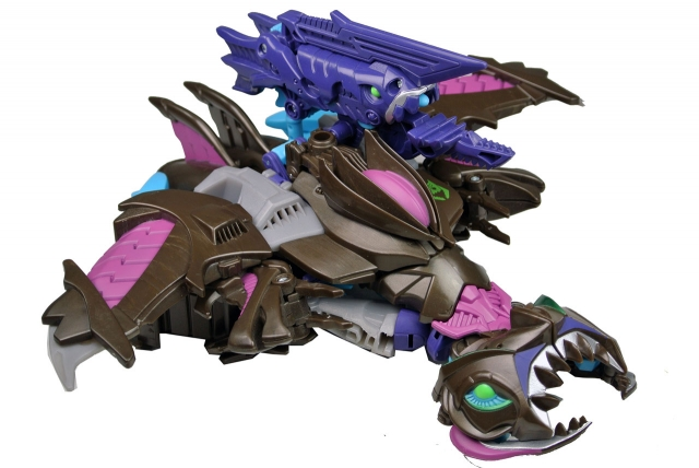 Beast Hunters - Transformers Prime - Sharkticon Megatron - Loose 100% Complete