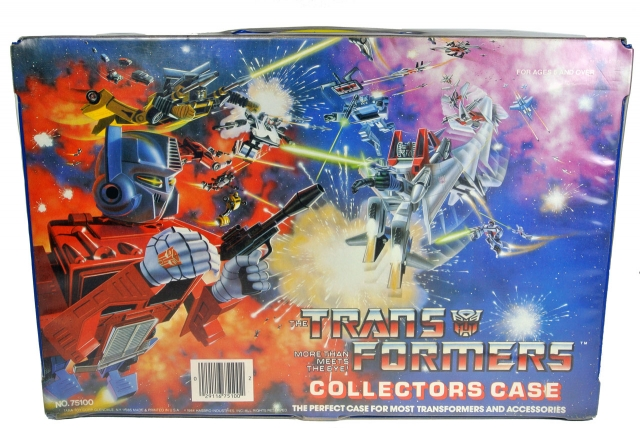 Transformers G1 - Collectors Case