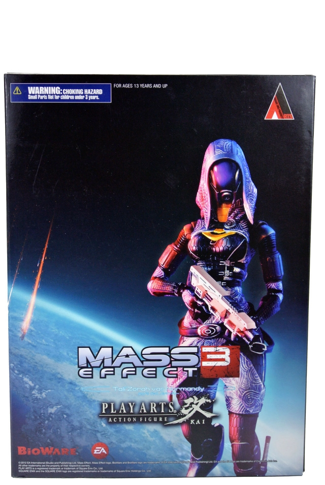 Play Arts Kai - Mass Effect 3 - Tali Zorah - MIB