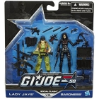 GIJoe - 50th Anniversary - Wave 2 - Social Clash - 2-pack Lady Jaye vs. Baroness