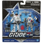 GIJoe - 50th Anniversary - Wave 2 - Arctic Ambush - 2-pack Snow Job vs. Arctic B.A.T.