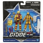GIJoe - 50th Anniversary - Wave 1 - Heated Battle - 2-pack Torch vs. H.E.A.T. Viper