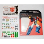Sticker Set for Transformers MP-20 Masterpiece Wheeljack