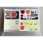 Sticker Set for Transformers MP-12G Masterpiece G2 Sideswipe