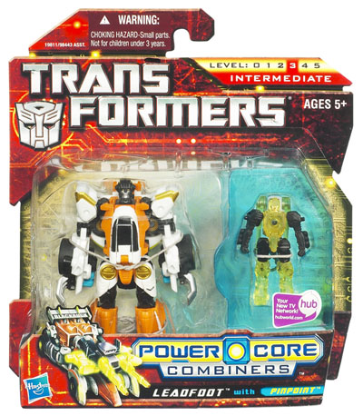 Transformers 2010 - Power Core Combiner 2-Pack - Leadfoot w/Pinpoint