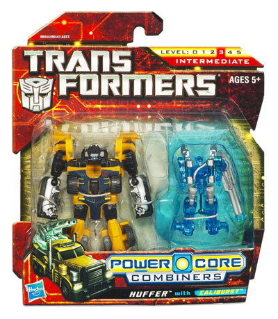Transformers 2010 - Power Core Combiner 2-Pack - Huffer w/ Caliburst