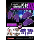 Perfect Effect - PC-02 Perfect Combiner Upgrade Set - Purple Version