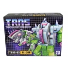 TRNS-03 Alicon figure - by Impossible Toys - MIB - 100% Complete