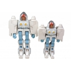 Transforming Exo-Suit - Daniel & Spike Set - Loose - 100% Complete