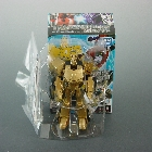 Japanese Transormers Animated  - EZ Collection Volume 04 - Gold Optimus Prime - MIB - 100% Complete