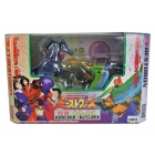Japanese Beast Wars - VS-36 Showdown of the Favorites - Mach Kick VS Archadis - MISB