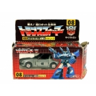 G1 Japanese - 08 Bluestreak - MIB - 100% Complete