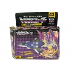 G1 Japanese - 43 Blitzwing - MIB - Missing paperwork