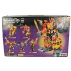G1 Japanese - D-78 Predaking - MIB - Missing swords