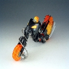 Marvel Transformers Crossovers - Ghost Rider - Loose - 100% Complete