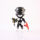 Loyal Subjects - Mighty Morphin Power Rangers - Wave 1 - Black Ranger - Chase Figure