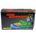 iGear - MW-01c Mini Warrior - Spray Chrome Version - Limited Edition 500 - MIB - 100% Complete