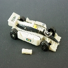Machine Wars Transformers - Prowl - Loose - Missing handgun rear section