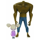 BATMAN ANIMATED - The New Batman Adventures - Killer Croc & Baby Doll