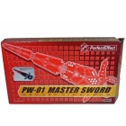 Perfect Effect  - PW-01 Red Master Sword - MIB - 100% Complete