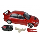 RoadBot - 1:18 Scale - Mitsubishi Lancer Evolution VIII - Loose - 100% Complete