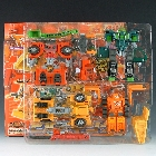 Car Robots - C-022 Build King (Landfill) - MIB - 100% Complete