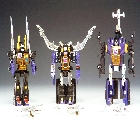 Reissue - Transformers Collection - TFC #16 Insecticons - 3 Piece Set - Loose - Near Complete
