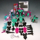 Reissue - Decepticon Piranacon - G1 Commemorative Seacons Set - Loose - 100% Complete
