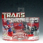 Robot Heroes - Optimus Prime vs Ravage - MOSC