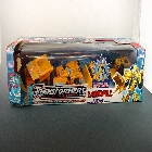 Robots in Disguise - Walmart Exclusive - Yellow Variant - Landfill -  Box As Shown