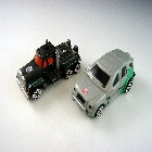 Robots in Disguise - Spy Changers - X-Brawn w/ Scourge - Loose - 100% Complete