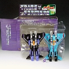 Robot Masters Edition - Skywarp & Thundercracker - MIB - 100% Complete
