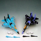Robot Masters - Skywarp & Thundercracker - Loose - Missing Pin