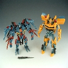 ROTF - N.E.S.T. Battlefield Bumblebee & Infiltration Soundwave - Loose - 100% Complete