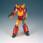Revoltech Hot Rod - Loose - Near Complete