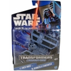 Star Wars - Darth Vader to TIE Advanced X1 Starfighter - MOSC