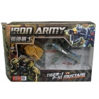 TFC Toys - Iron Army - Set A - Tiger-1 & P-51 Mustang - MIB - 100% Complete